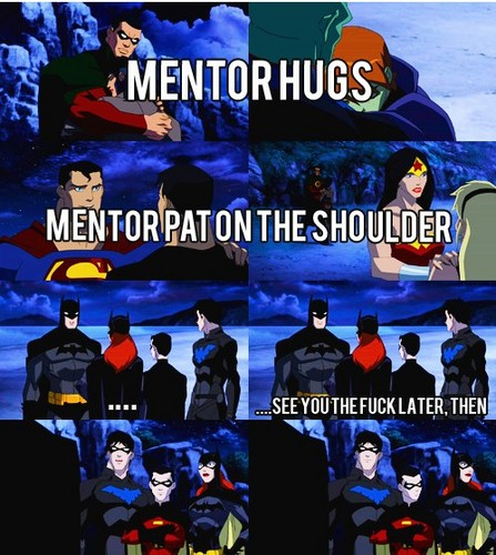 Lol! way to go bat family!