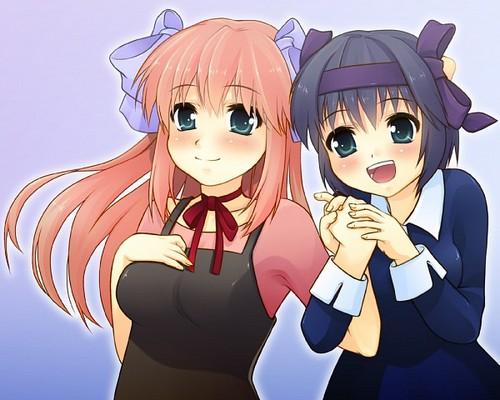 Lucy and Nana