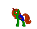 M'gann as a poni, pony