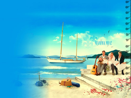 MAMMA MIA BackGround
