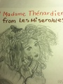 Madame Thenardier Sketch/Drawing - les-miserables fan art