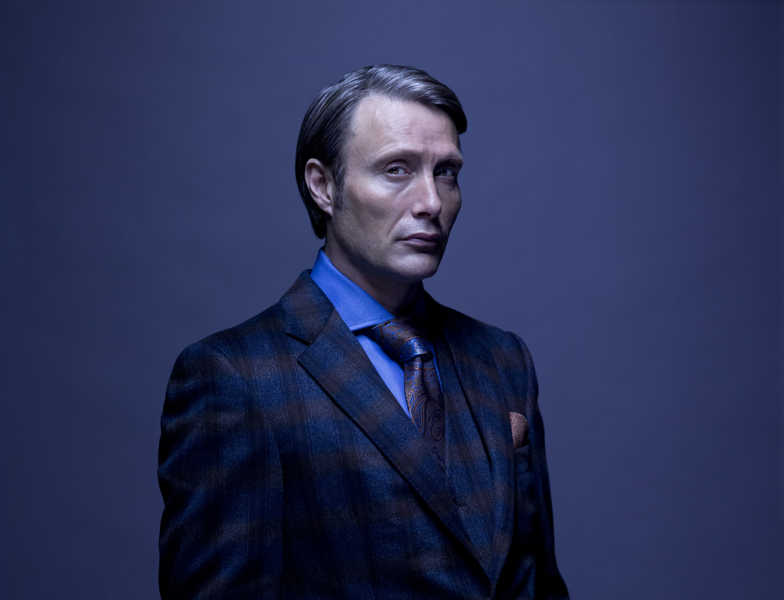 Hannibal TV Series Mads Mikkelsen as Dr. Hannibal Lecter