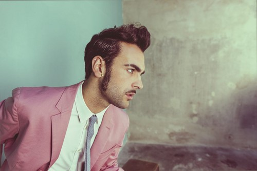 Eurovision Song Contest wallpaper with a business suit called Marco Mengoni (Italy)