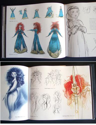 Merida concept arts