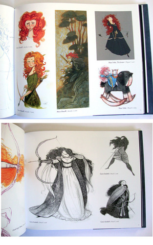 Ribelle - The Ribelle - The Brave wallpaper entitled Merida concept arts