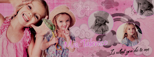 Mia Talerico wallpaper possibly with a sign called Mia Talerico as Charlie
