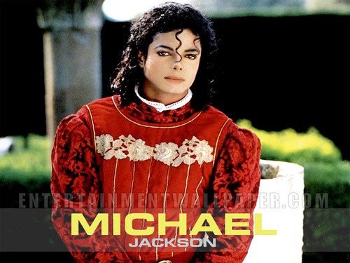 Michael Jackson wallpaper possibly containing a blouse, a dashiki, and a nightwear entitled Michael<3