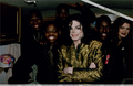 Michael With Brooke Shields And Boyz II Men - michael-jackson photo