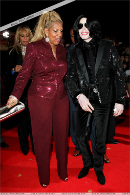 Michael And Former Publicist, Raymoan Bain