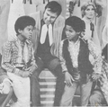 Michael And Marlon Talking With Jim Nabors - michael-jackson photo