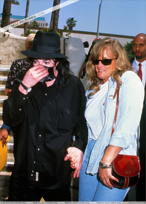 Michael And seconde Wife, Debbie Rowe