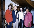 Michael With Family And Friends - michael-jackson photo