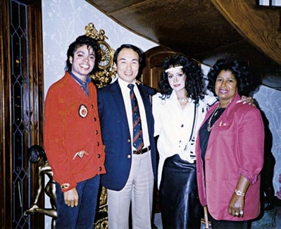 Michael With Family And Marafiki