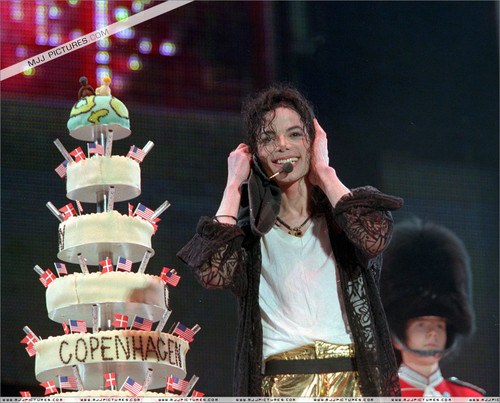 "Michael's ""39th"" Birthday In Copenhagen, Dennmark Back In 1997"