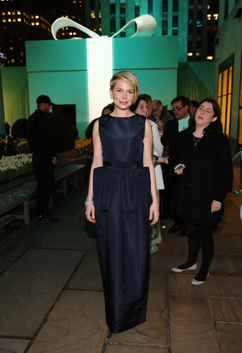 "Michelle Williams at Blue Book Ball at ""Rockefeller Center"" In New York City - (April 17, 2013)"