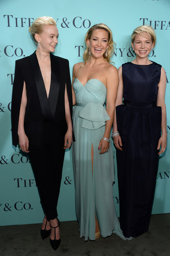 """Michelle Williams at Blue Book Ball at """"Rockefeller Center"""" In New York City - (April 17, 2013)"""