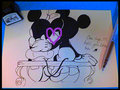 Mickey and Minnie Forever - mickey-mouse fan art