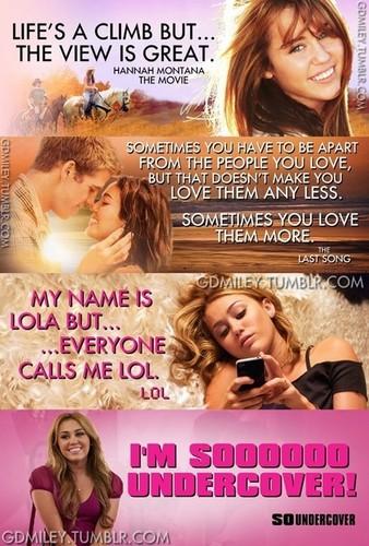 Miley 映画 Poster