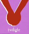 Minimalist Book Covers - twilight-series fan art