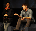 Misha & Jensen - Vegas Con 2013 - jensen-ackles-and-misha-collins photo