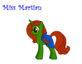 Miss Martian as a pony! - young-justice photo
