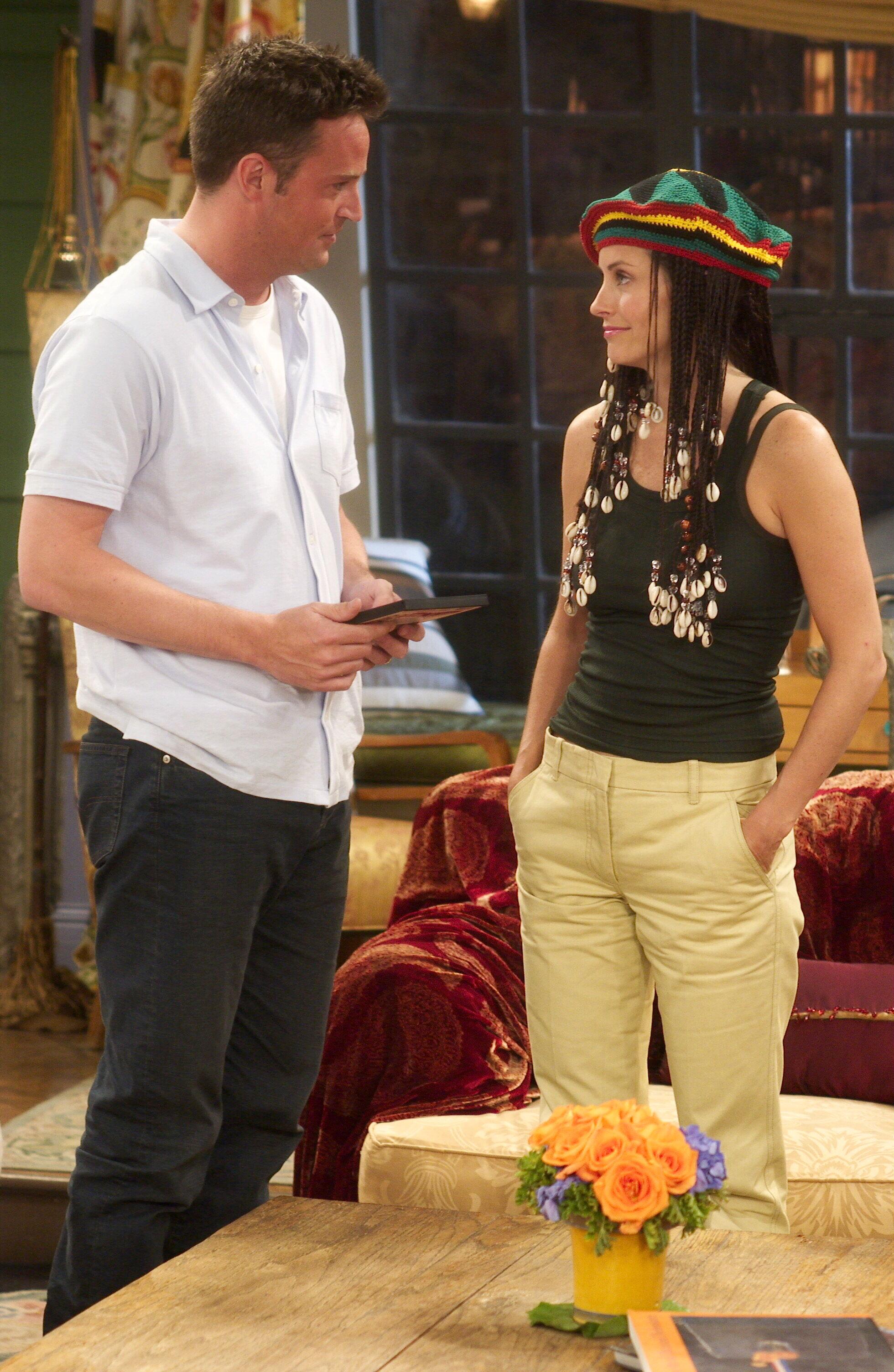 Monica & Chandler - Monica Geller Photo (34204186) - Fanpop