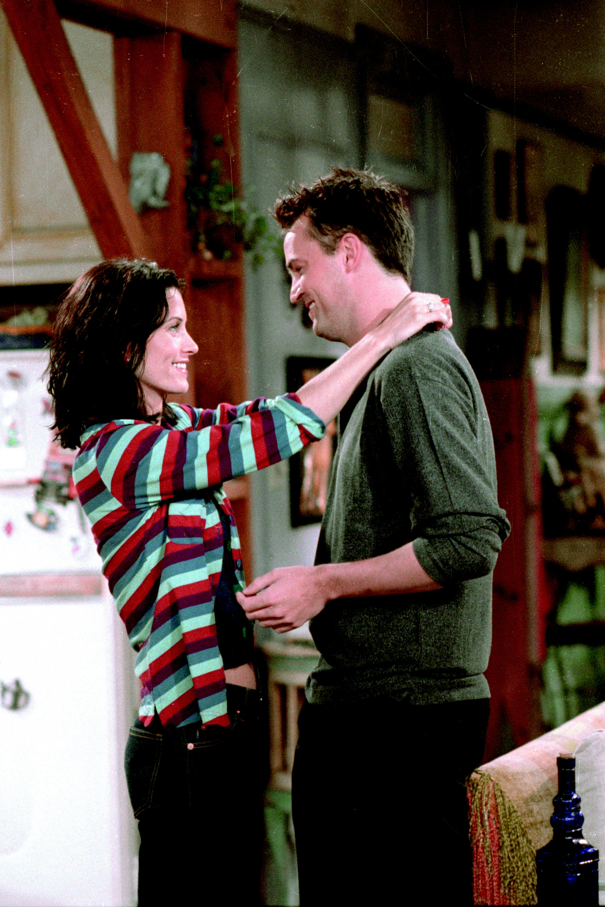 Image result for monica and chandler