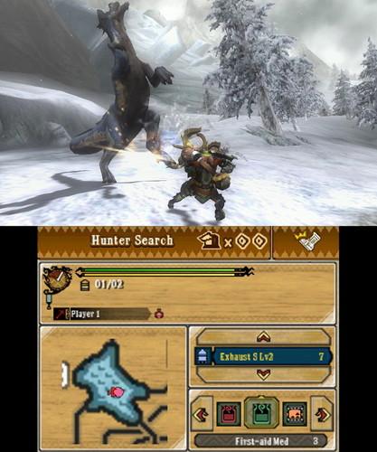 Monster Hunter 3 Ultimate 3DS Screenshot