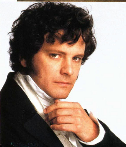 Mr Darcy (Colin Firth)!