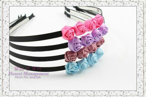 Multi-rose hairband