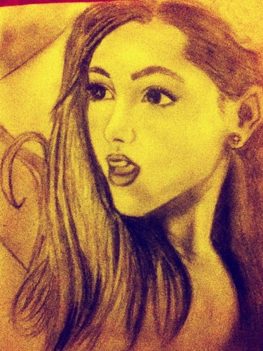 My Ariana Grande drawing (orginal)