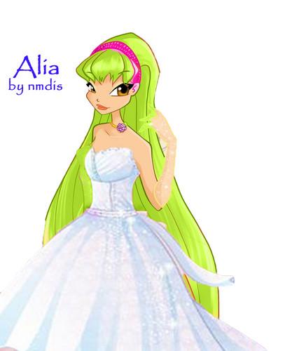 My OC Alia