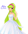 My OC Alia - the-winx-club fan art