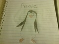 My first attempt at drawing Private - penguins-of-madagascar fan art
