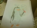 My first attempt at drawing Rico - penguins-of-madagascar fan art