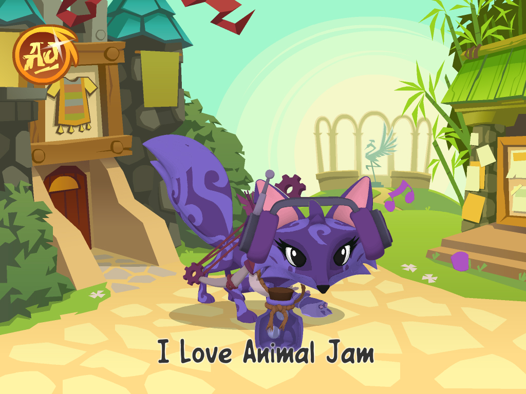 Draw Room Online Animal Jam Images My Fox Hd Wallpaper And Background