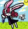 My own cute rabbit