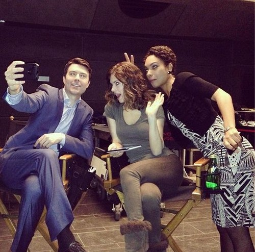 Noah Bean, Lyndsy Fonseca and Lyndie Greenwood