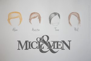 Of Mice And Men Band Wallpaper