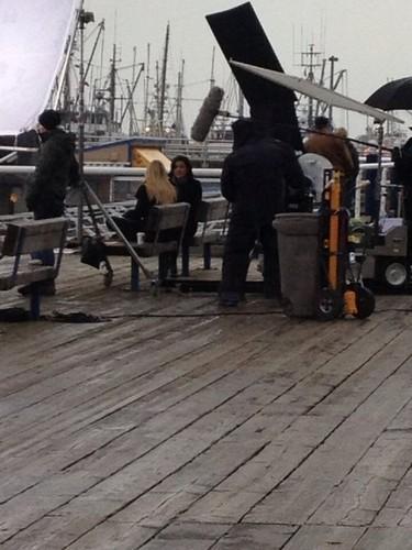 "OUAT 2x19-'Lacey' Bangtan Boys fotografia ""Emma & Gina Talking/Arguing"""