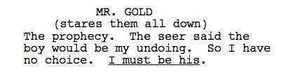 OUAT 2x19-'Lacey' Leaked Transcripts!