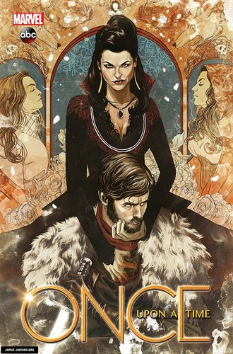 Once Upon A Time Comic Cover: Shadow Of The Queen
