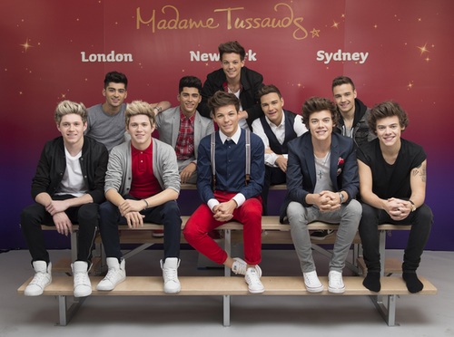 One Direction Madame Tussauds Wax Figures
