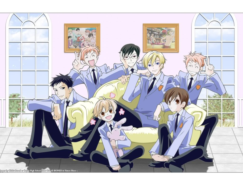 Anime ouran host club