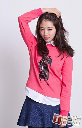 Park Shin Hye wallpaper containing an outerwear titled Park Shin Hye 2013
