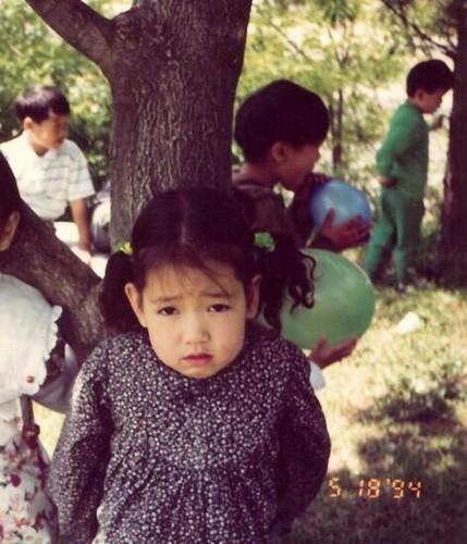 Park Shin Hye Childhood