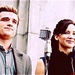 Peeta & Katniss Catching Fire<3