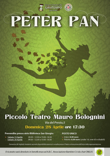 Peter Pan at the theatre