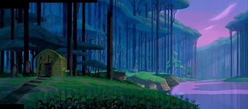 Pocahontas - landscape
