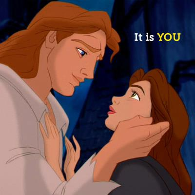 Prince Adam and Belle ♥